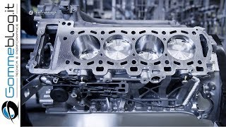 2020 AMG Engine V8 vs 4L - PRODUCTION (German Car Factory)