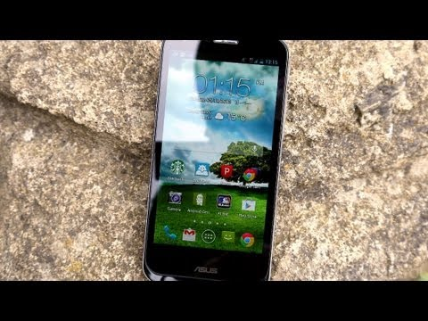 Video walkthrough of the ASUS Padfone 2