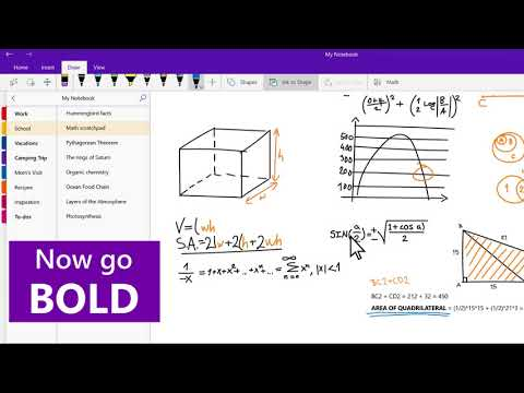 OneNote Tips: Learn how to draw