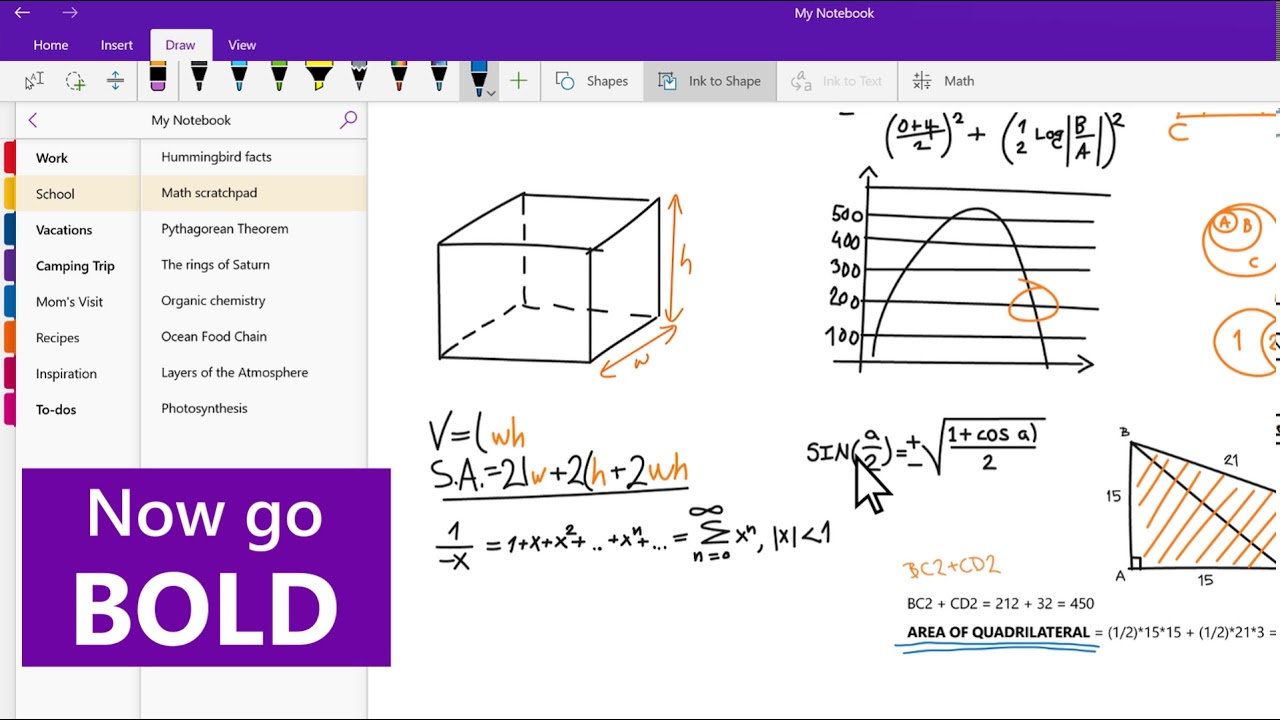 Drawing Lines In Onenote : Onenote tips learn how to draw youtube