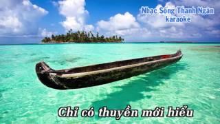 Thuyền Và Biển - Karaoke Nhạc Sống Thanh Ngân