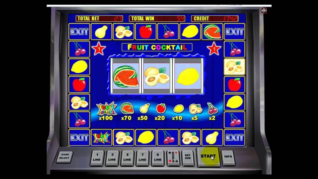 Игровые автоматы fruit cocktail секреты бесплатн игровые автоматы джойказино