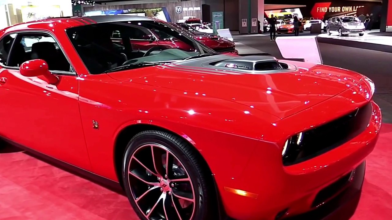 2017 dodge challenger red edition exterior and interior - 2017 dodge challenger interior lights ...
