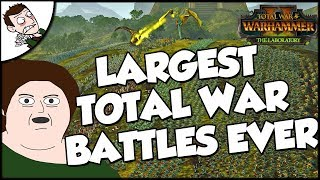 Trying to Make the Largest Total War Battles Ever (Total War WARHAMMER 2 Sponsored)