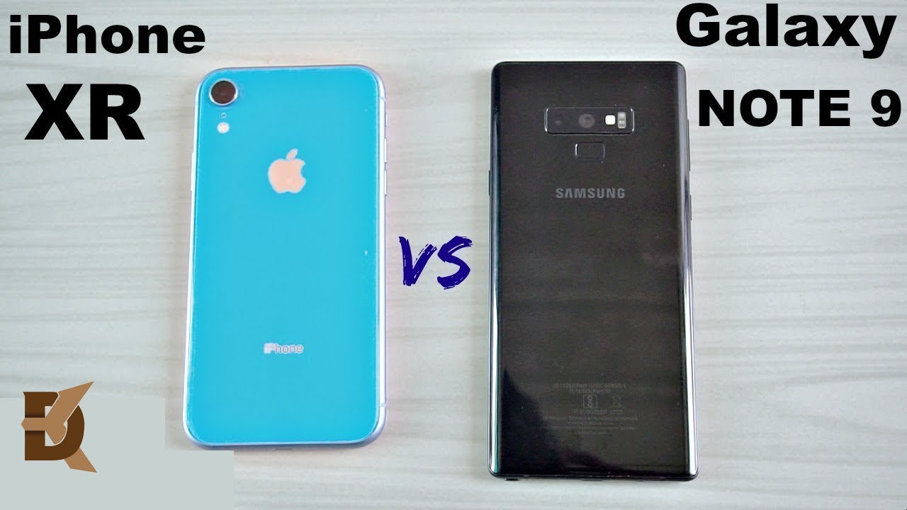 iphone xr vs samsung galaxy note 9 speed test youtube. Black Bedroom Furniture Sets. Home Design Ideas
