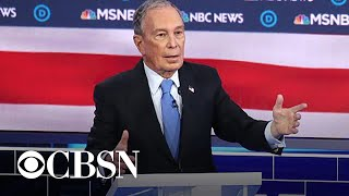 Democratic contenders focus attacks on Bloomberg in Las Vegas debate
