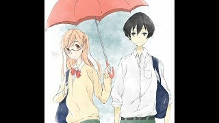 {AMV} Аниме клип   Любимый дождь   Танака и Шираиши