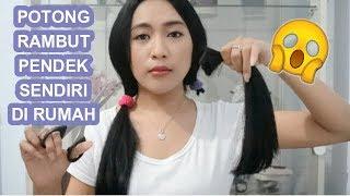 Download Video NEKAT POTONG RAMBUT PENDEK SENDIRI DI RUMAH MP3 3GP MP4
