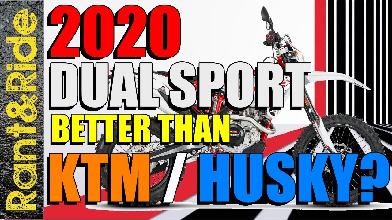 2020 Dual Sport Motorcycles that are gonna shake things up!