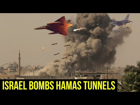 Israel keeps Heavy bombing of Hamas 'metro' destroyed miles of tunnels.
