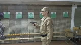 Зачетная стрельба из ИЖ 71