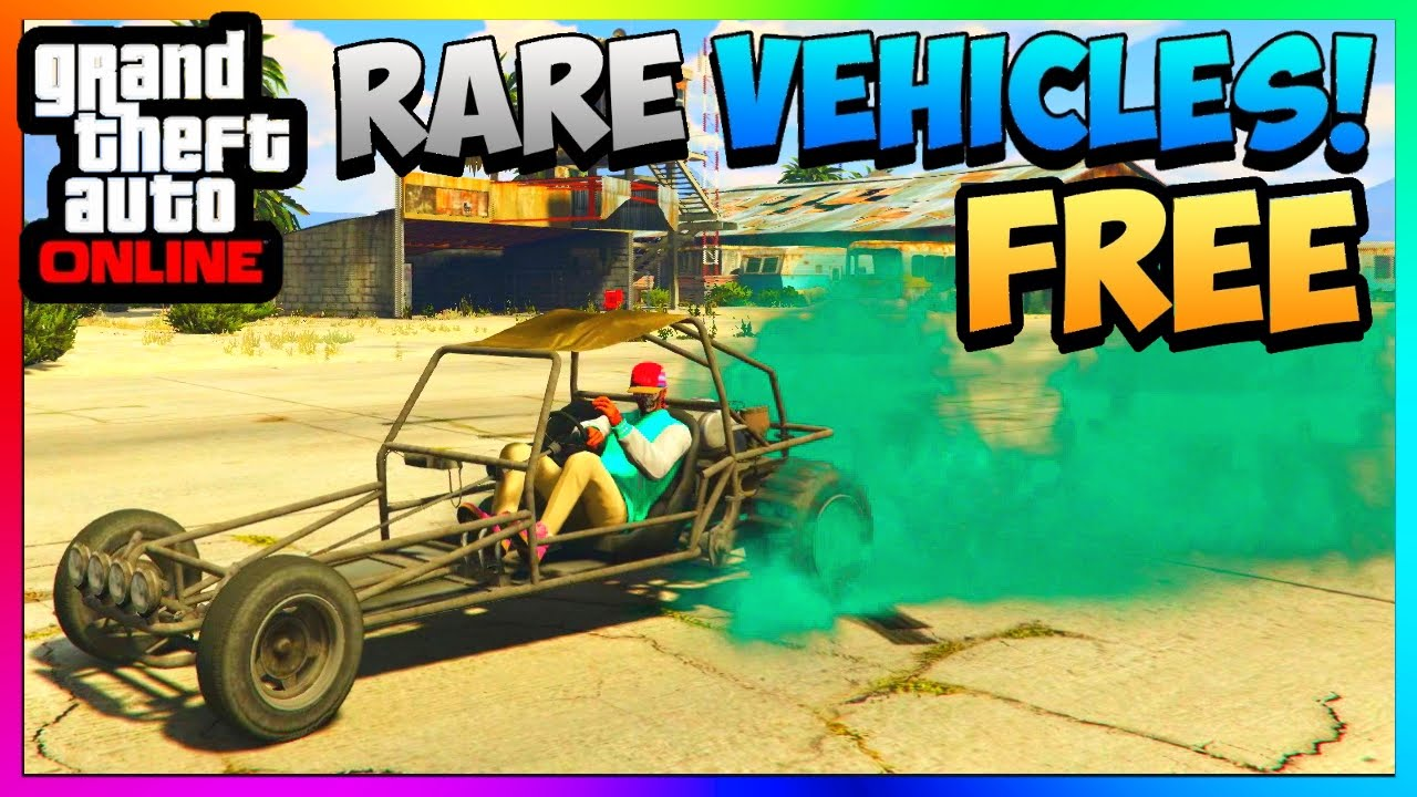 Gta Online Store Rare Cars For Free Naked Dune Buggy Spawn