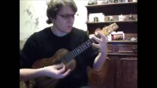 Kaze ni Naru (The Cat Return, ukulele solo, arranged by myself)