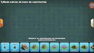 LAYOUT PARA CV 5 BASE DO CONSTRUTOR CLASH OF CLANS