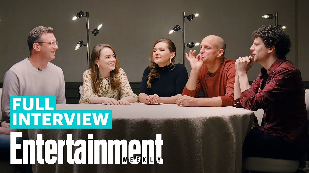 'Zombieland: Double Tap' Roundtable With Emma Stone, Woody Harrelson & More