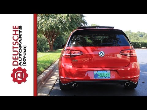 MK7 Golf/ GTI LED Tail Light Plug and Play Operation (No coding or wiring changes)