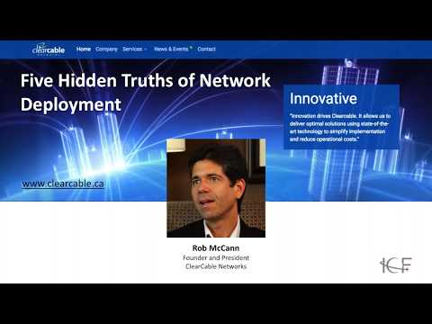 Five Hidden Truths About Network Development: An ICF Broadband Agendas Webinar