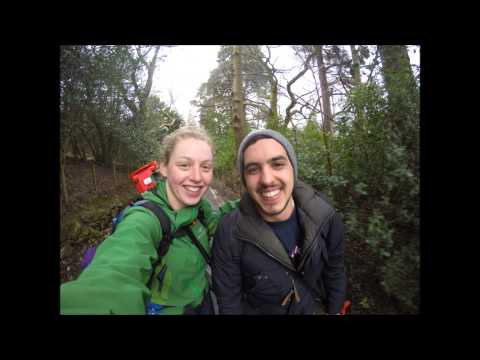 University of Manchester Civil Engineering Surveying Trip to Patterdale 2015