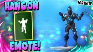Fortnite HANG ON DANCE EMOTE | *LEAKED* Season 10 Emote!