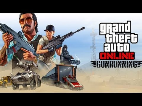 "GTA 5 DLC UPDATE ""GUNRUNNING"" RELEASED EARLY LIVESTREAM! (GTA 5)"