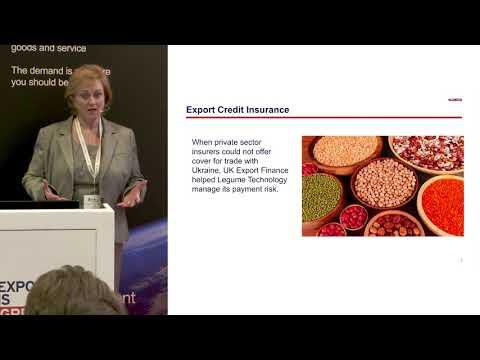 Working with UK Export Finance (UKEF)