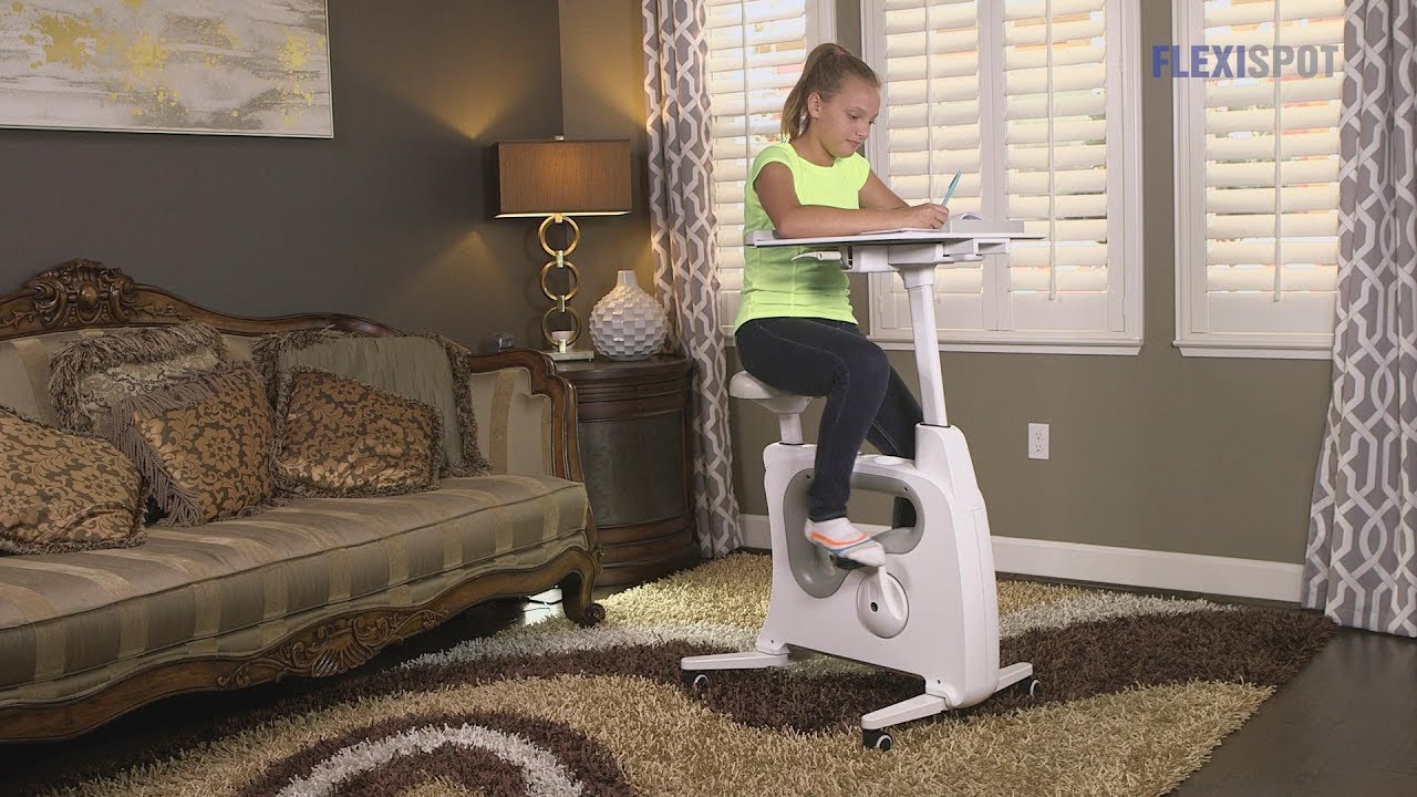 Flexispot All In One Desk Bikes A Smart Way To Keep Kids Active