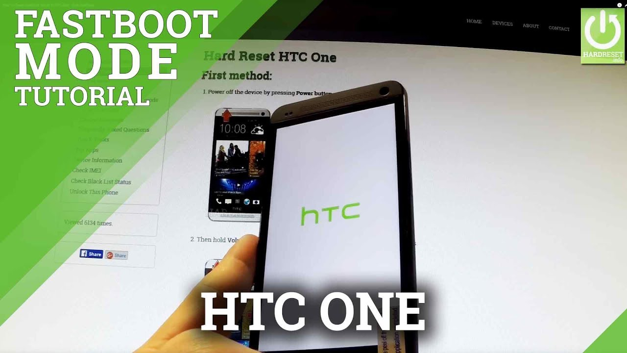 How to Open Fastboot Mode in HTC One - Quit Fastboot