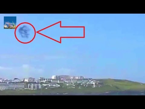 A strange looking object has been seen flittering over the skies of Cornwall  :  UFO : Space Show