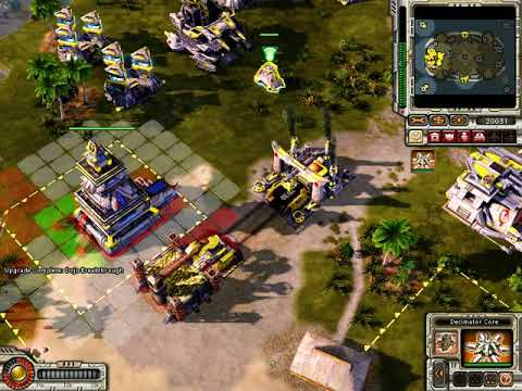 Command and Conquer Red Alert 3 Quick Game. |