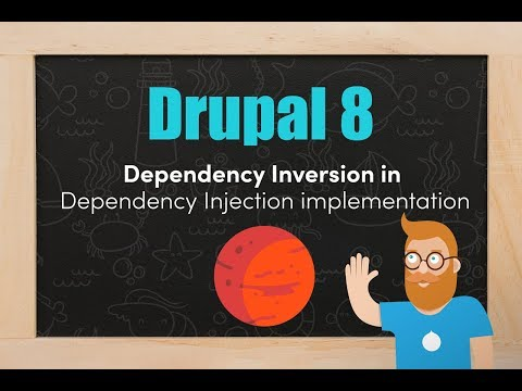 Dependency Inversion in our Dependency Injection implementation in Drupal 8