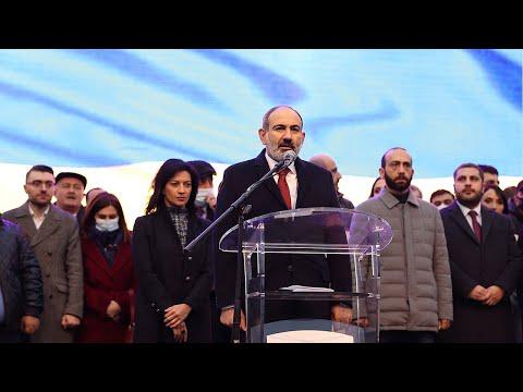 «Ժողովուրդն անհաղթահարելի ուժ է». վարչապետի ելույթը Հանրապետության հրապարակում հանրահավաքի ժամանակ