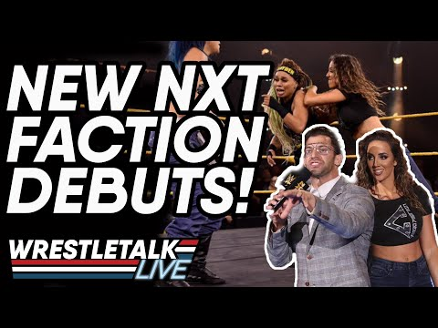 New NXT Faction DEBUTS! WWE NXT Jan. 8, 2020 Review! | WrestleTalk Review