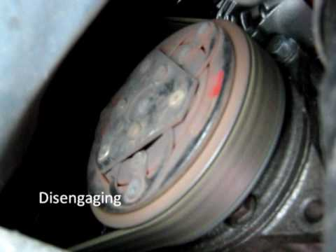 Volvo V70 2 5d A C Compressor Clutch Youtube