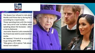 The Queen Bans Meghan Markle and Prince Harry (2019)