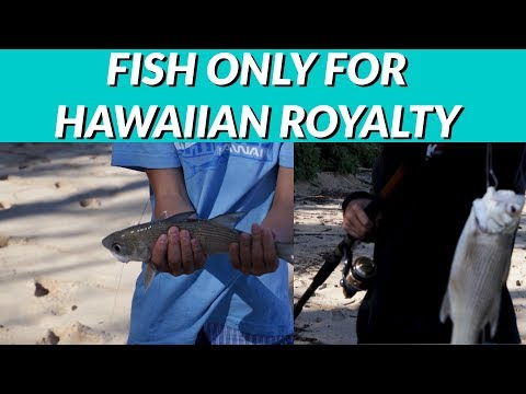 FISH Only For HAWAIIAN ROYALTY-FISHING For Moi-where To FIND And Hopefully CATCH