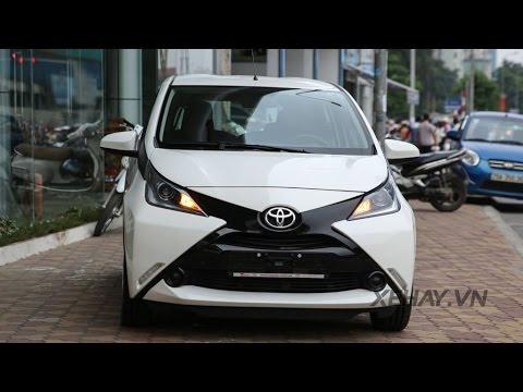 Chi tiết Toyota Aygo - xe đô thị cỡ nhỏ xinh xắn tại Hà Nội