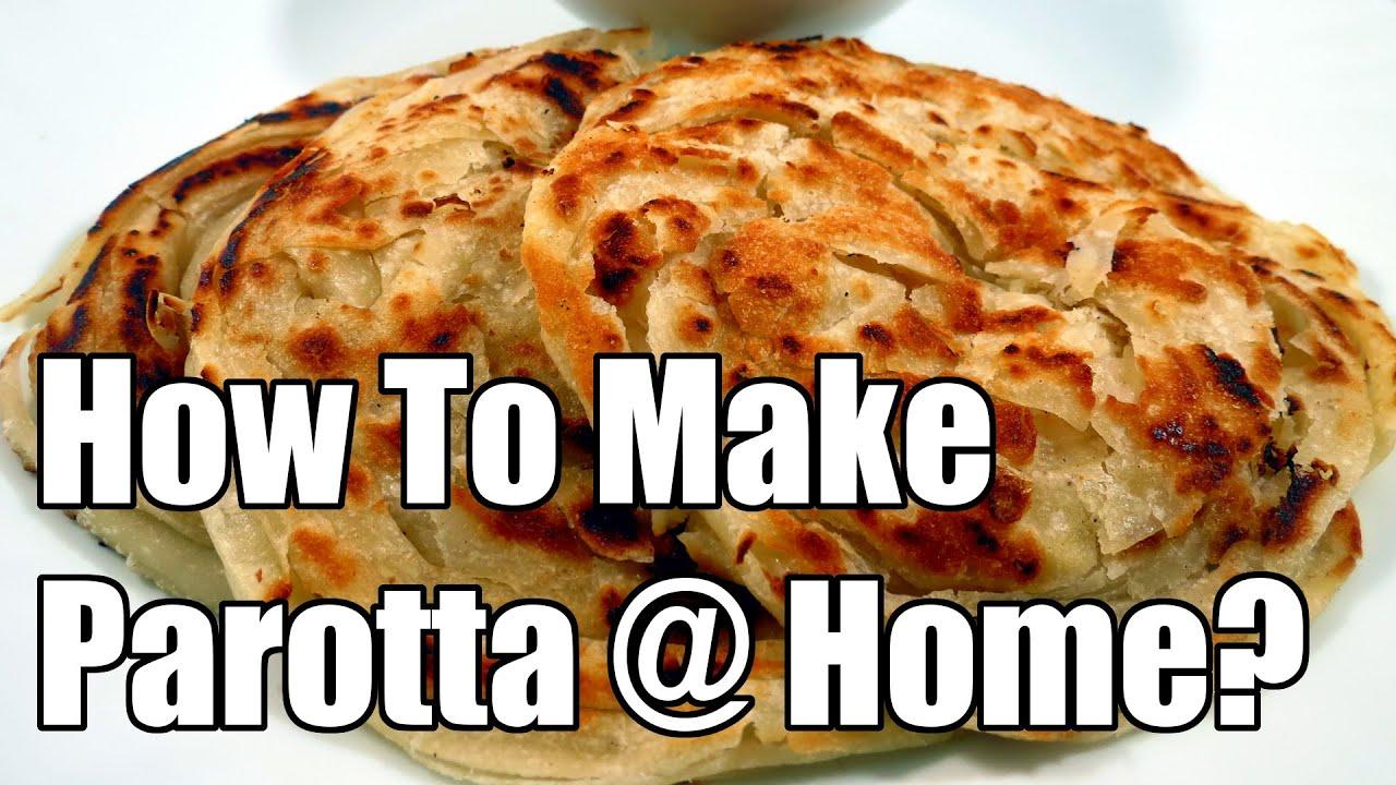 How To Make Kerala / Malabar Parotta At Home? | Simple Indian Recipes #6