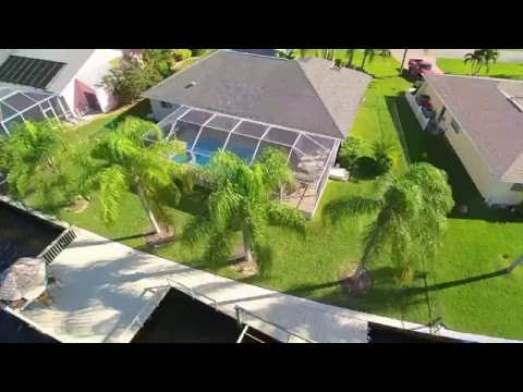 Cape Coral Vacation Rental   Pool Home on Gulf Access Canal With Large Dock  Boat Lift  1080p