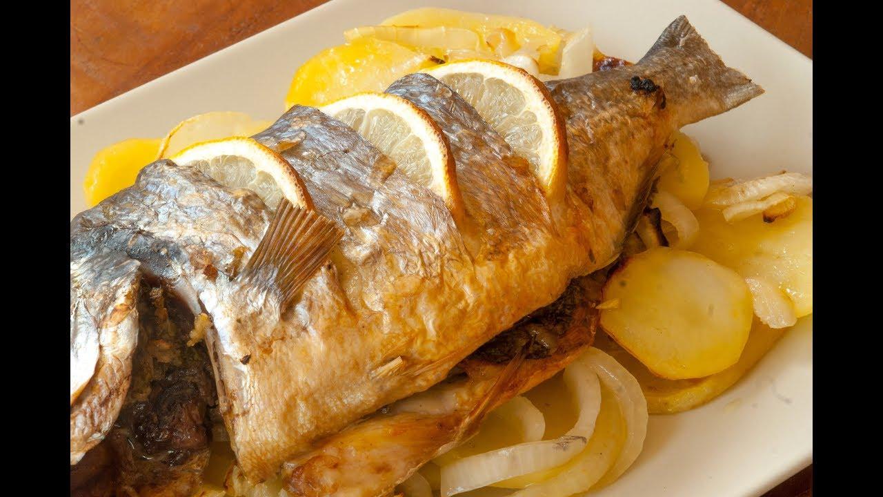 Recetas de pescado al horno youtube