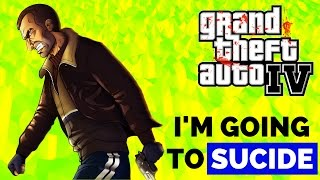 Hilarious Funny Suicide Attempts in GTA 4 || Don't Try this at HOME Lolz