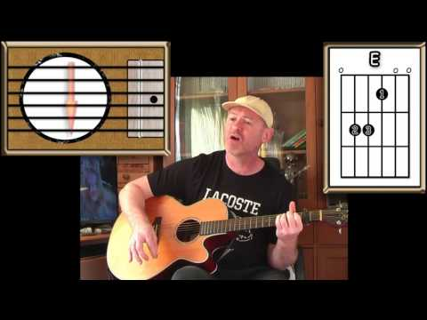 Runaround Sue - Dion - Acoustic Guitar Lesson (easy-ish)