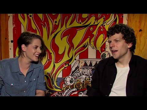 "American Ultra's Jesse Eisenberg and Kristen Stewart Play ""Is it a Weapon?"""