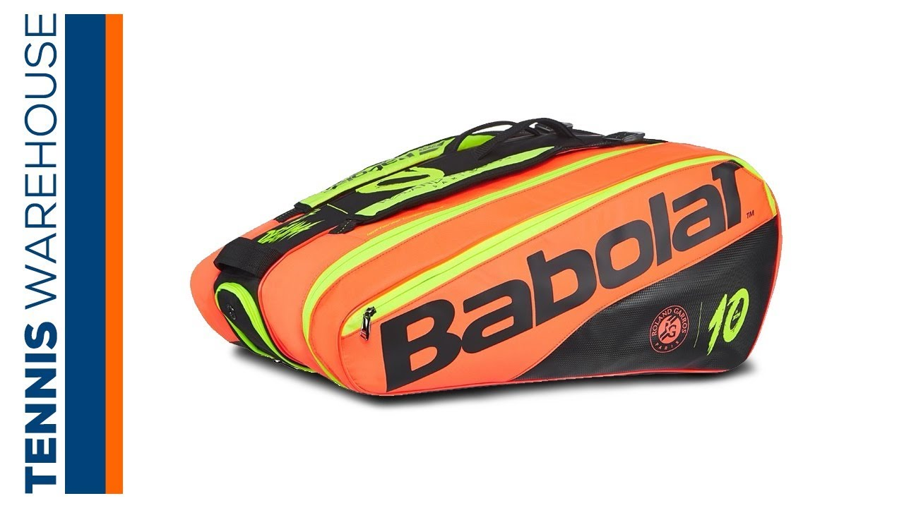Babolat Pure French Open La Decima 12 Pack Tennis Bag Youtube