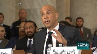 Sen. Booker Testifies Against Jeff Sessions for AG