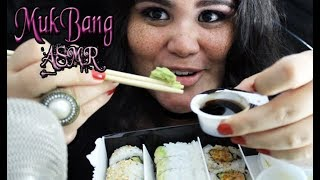 ★ASMR MUKBANG ★ MAKIS / SUSHI | Eating Sounds & Whisper