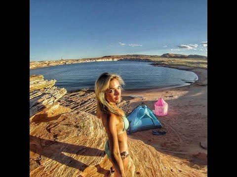 Camping Solo on Antelope Island - Alyssa Ramos MyLifesAMovie.com