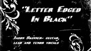 letter edged black- - jason skinner