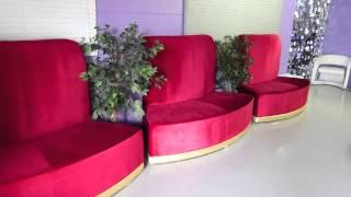 Modern Line Furniture Presents The Modular Luna In Red