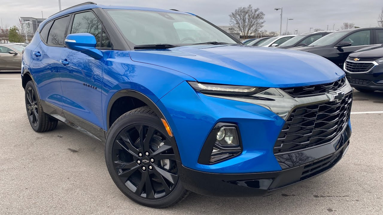 2020 chevrolet blazer rs fwd 3.6 review - youtube