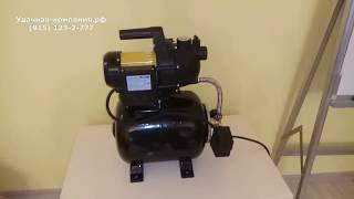Самый дешевый водопровод для дачи с автоматикой